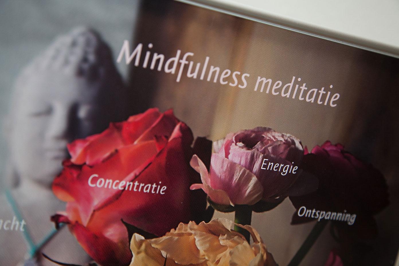 Mindfulness Meditatie om te leren leven in het hier-en nu.